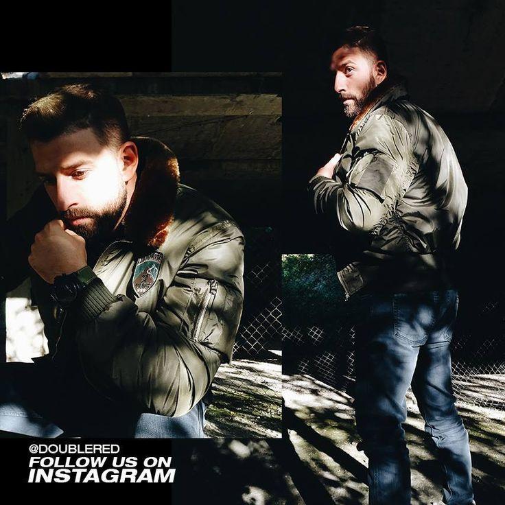 #green #bomber #doublered #army #armystyle #winterstyle #armyfashion #military #militarystyle #streetwear #streetstyle #streetfashion #reddressing #drdresscode #drrules #fashionkiller #menswear #mensfashion