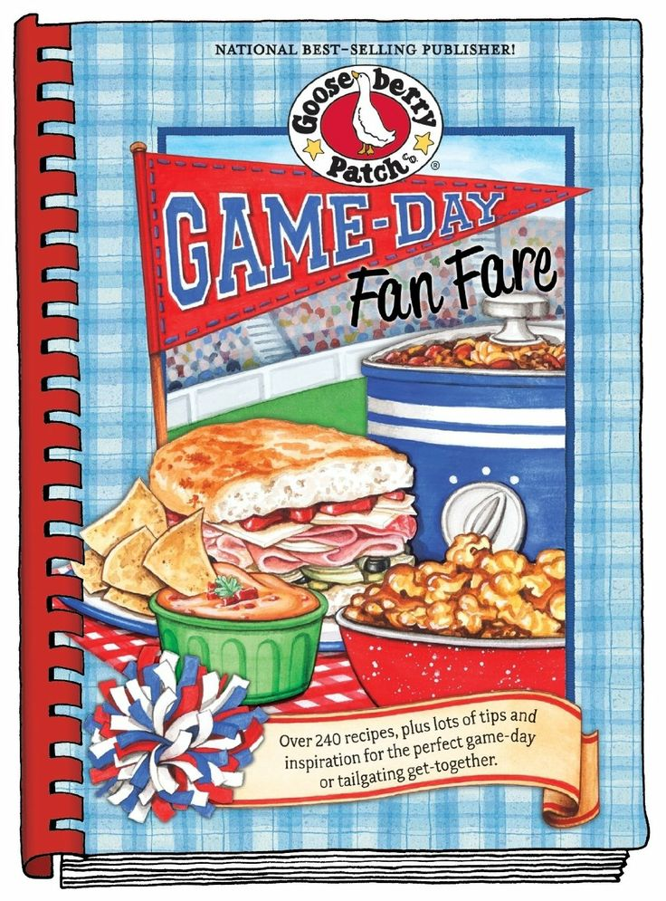 Game Day Fan Fare Gooseberry Patch Cookbook - Recipe for Pulled Pork Sliders/ Crock Pot Recipe
