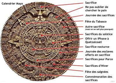 Pit1, c'est vrai,le calendrier Maya,ça fout les...
