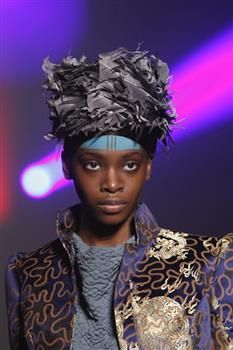 Hat (5b) by Prudence Millinery for Vivienne Westwood Gold Label Autumn Winter 2014 2015 http://viviennewestwood.prudencemillinery.com