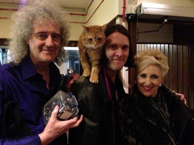 Brian May, Bob & James Bowen
