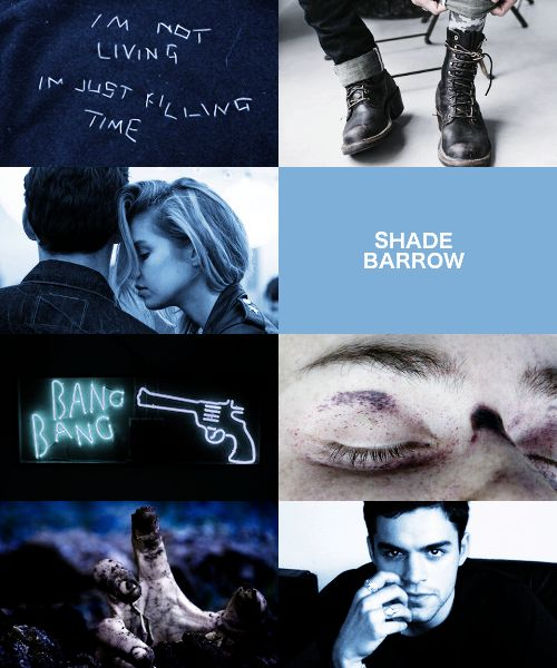 Shade College he was like one of my favorite characters. I guess there's still killorn and Cal and maven too :) | The Red Queen