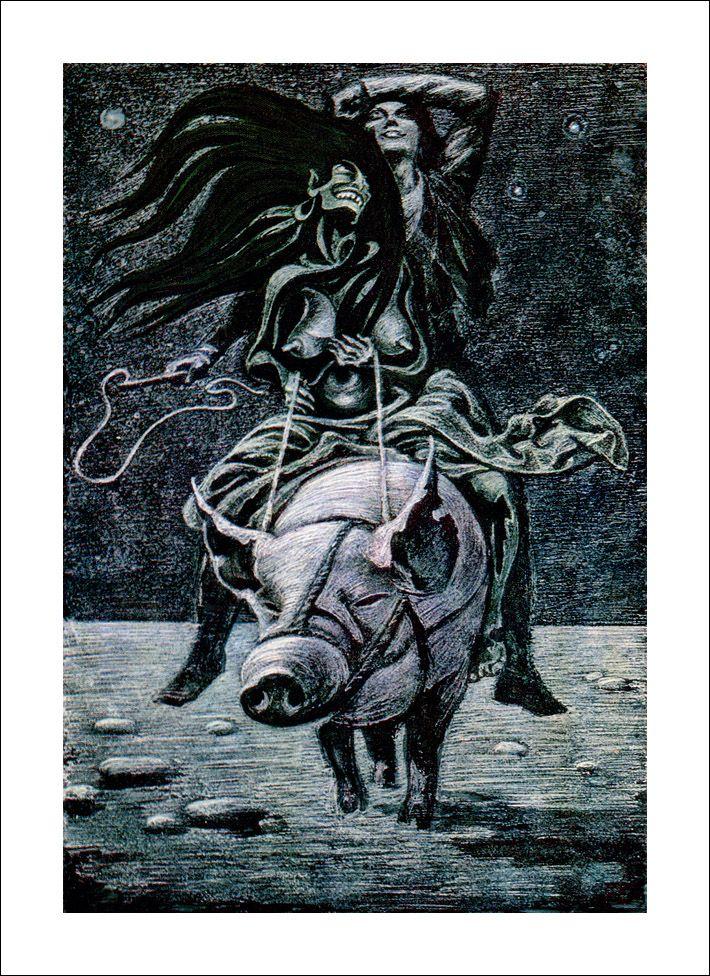 "<b>Henrik Ibsen</b> 'Peer Gynt', ""On a wedding horse"" by Савва Бродский ..."