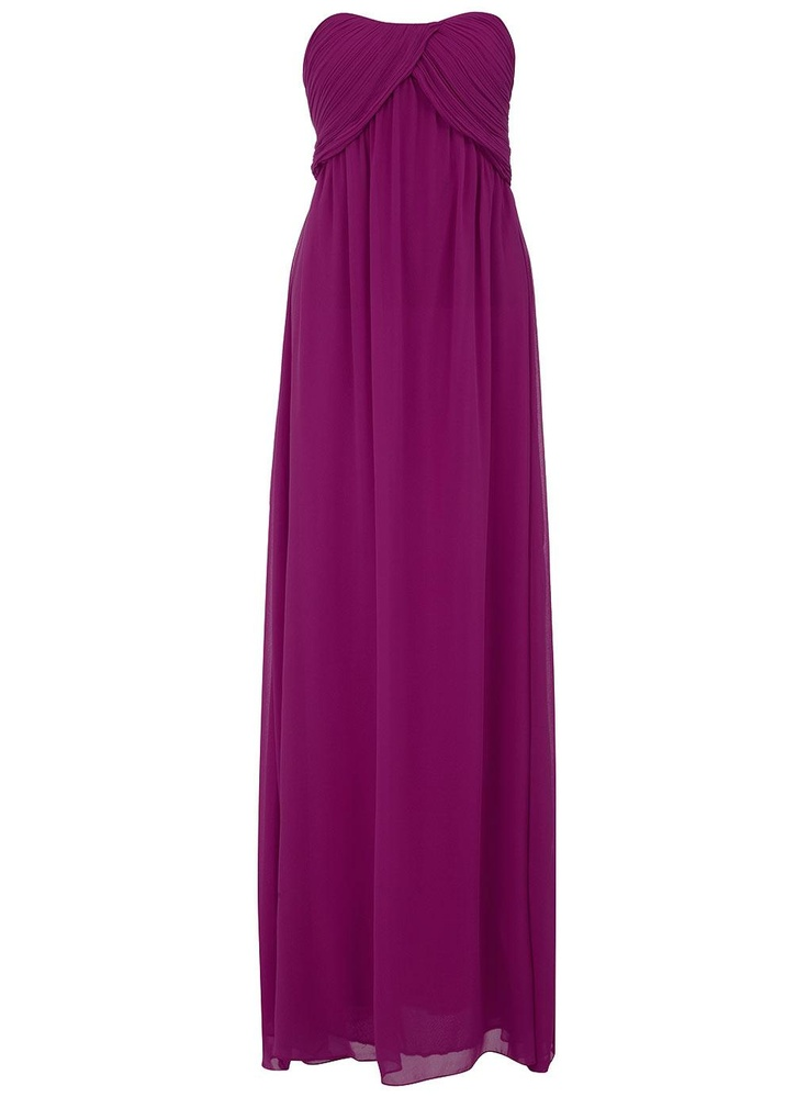 : Bandeau Maxi, Maxi Dresses, Meals, Ruched Bandeau, Maxi Bridesmaid Dresses, Purple Ruched, Dorothy Perkins, Bandeaus, View