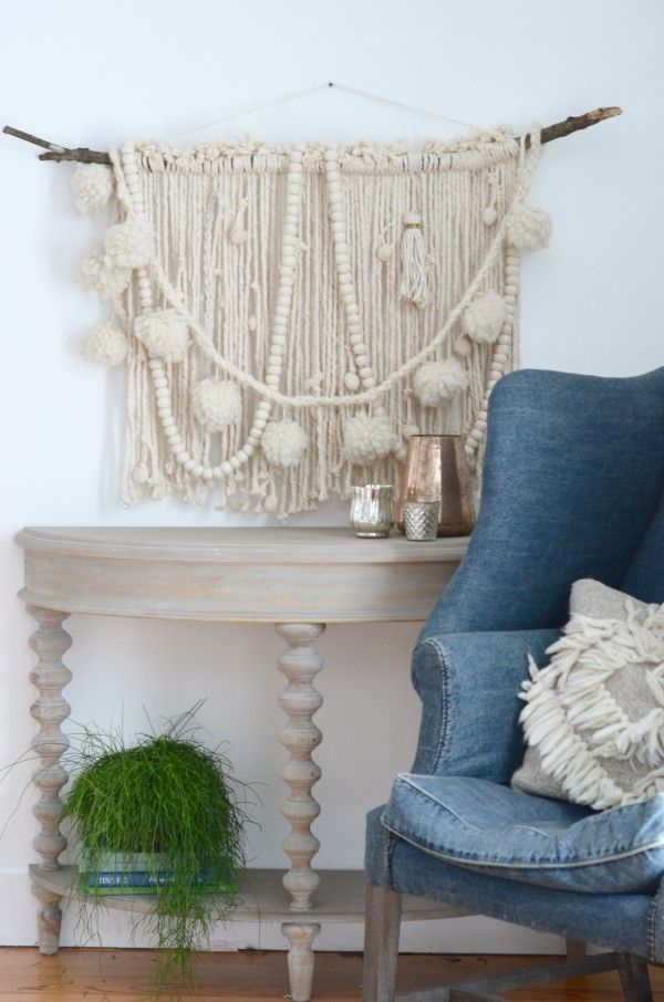 Make A DIY Wall Hanging:: Starting with a Mop | Nesting Place | Bloglovin'