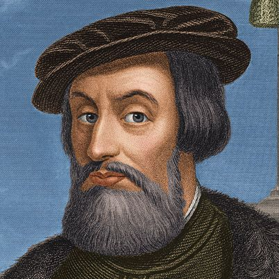 Hernán Cortés, 1485-1547,   Explorer, Military Leader / Hernán Cortés, marquis del Valle de Oaxaca, was a Spanish conquistador who overthrew the Aztec empire and won Mexico for the crown of Spain.