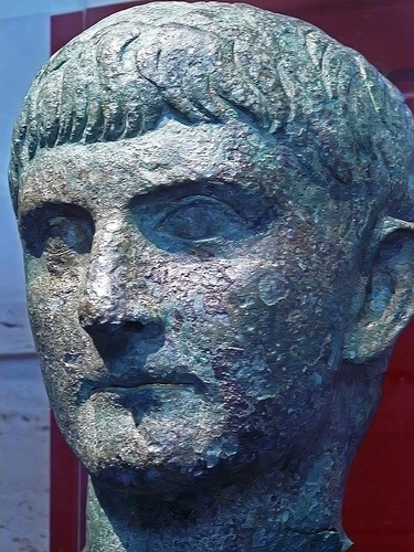 Older Portrait of Germanicus son of Drusus Major and Antonia Minor and father of Caligula Roman 1st century CE