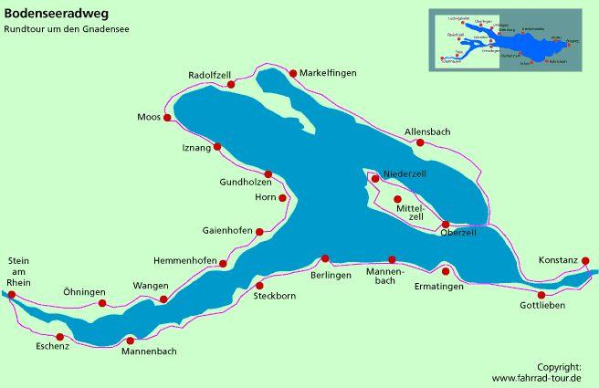 Konstanz - Radolfzell - Stein - Kreuzlingen - Konstanz