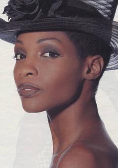 Black model Roshumba Williams