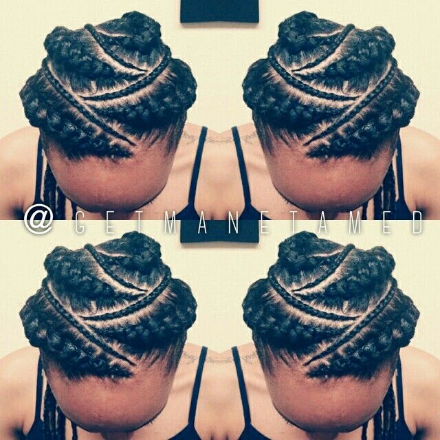 Ghana braids/ feed in cornrows/ cornrows / goddess braids/ braid designs. Follow me on instagram @getmanetamed.