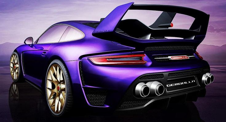 New Gemballa Avalanche Is A 2017 Porsche 911 Turbo On Some Serious Steroids