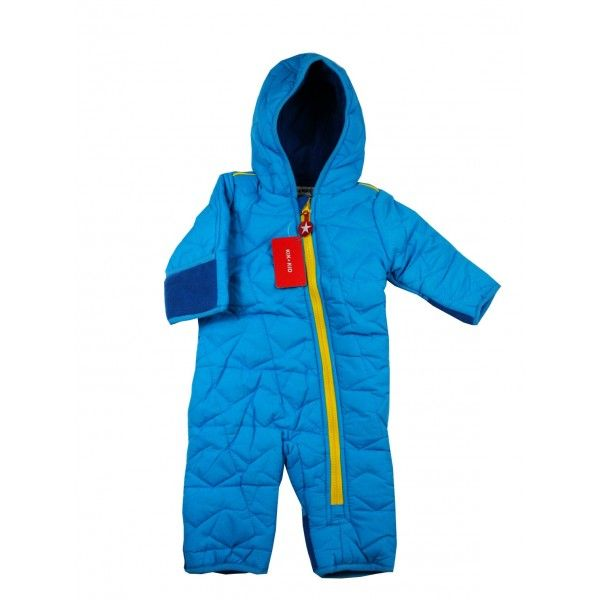 Kik Kid Baby Winteranzug, Blue & Yellow