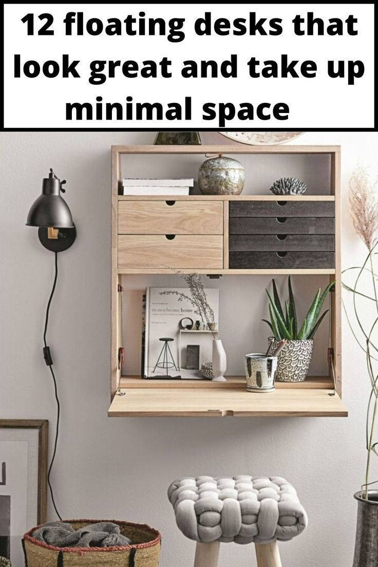 12 Floating Desks That Look Great And Take Up Minimal Space In