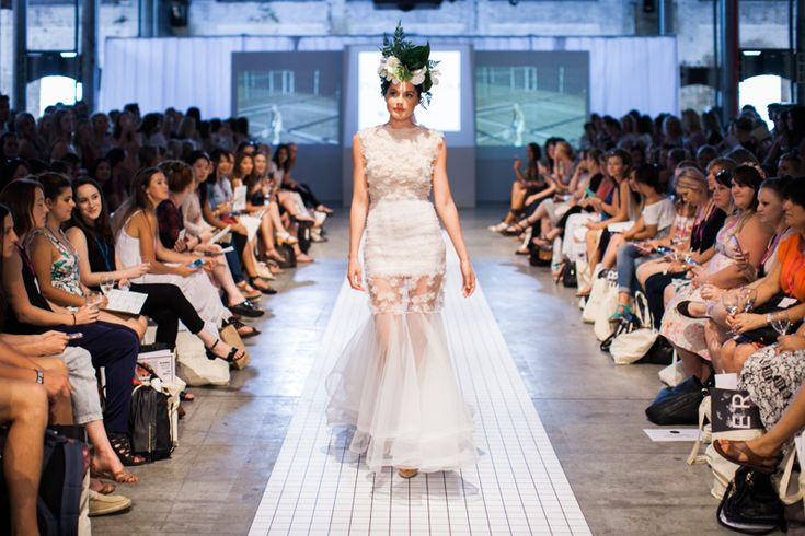 Philippa Galasso | One fine day wedding fair Sydney runway show 2015 | Snow Flake Gown