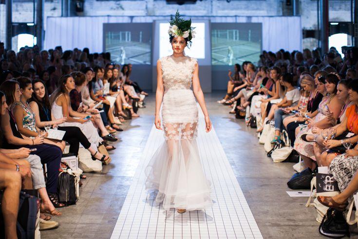 Philippa Galasso | One fine day wedding fair Sydney runway show 2015 | Snow Flake Gown