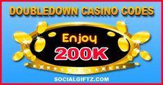 200K Doubledown Casino Promo Codes 10.12.15