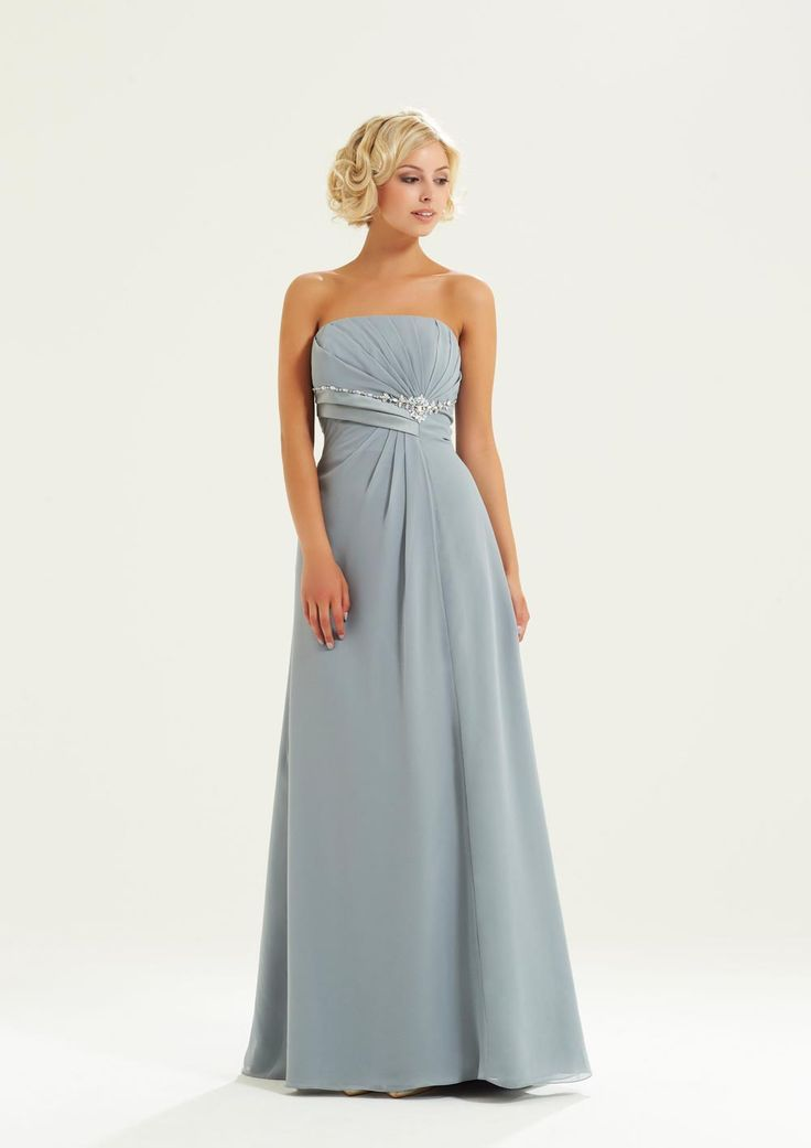 light-grey-bridesmaids-dresses