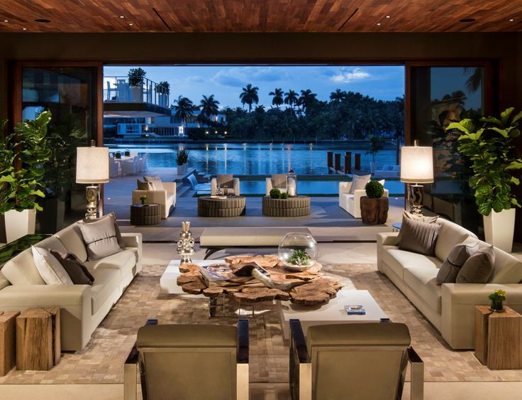 Miami Beach Luxury Waterfront Home. Beautiful, flawless new modern design in the heart of sunny Miami Beach.  http://goo.gl/sqPuqe