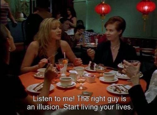 """On finding one's soulmate: 