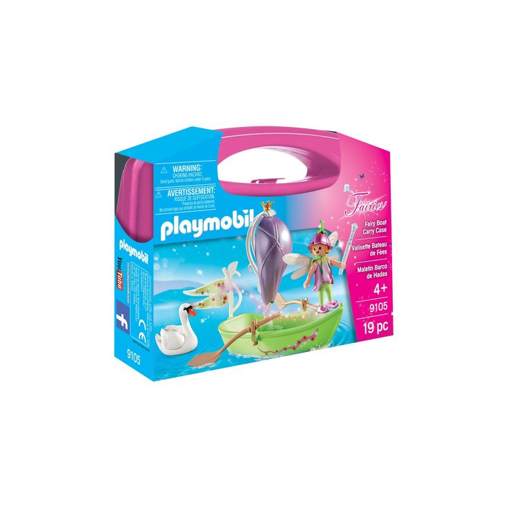 Playmobil Fairy Boat Carry Case,