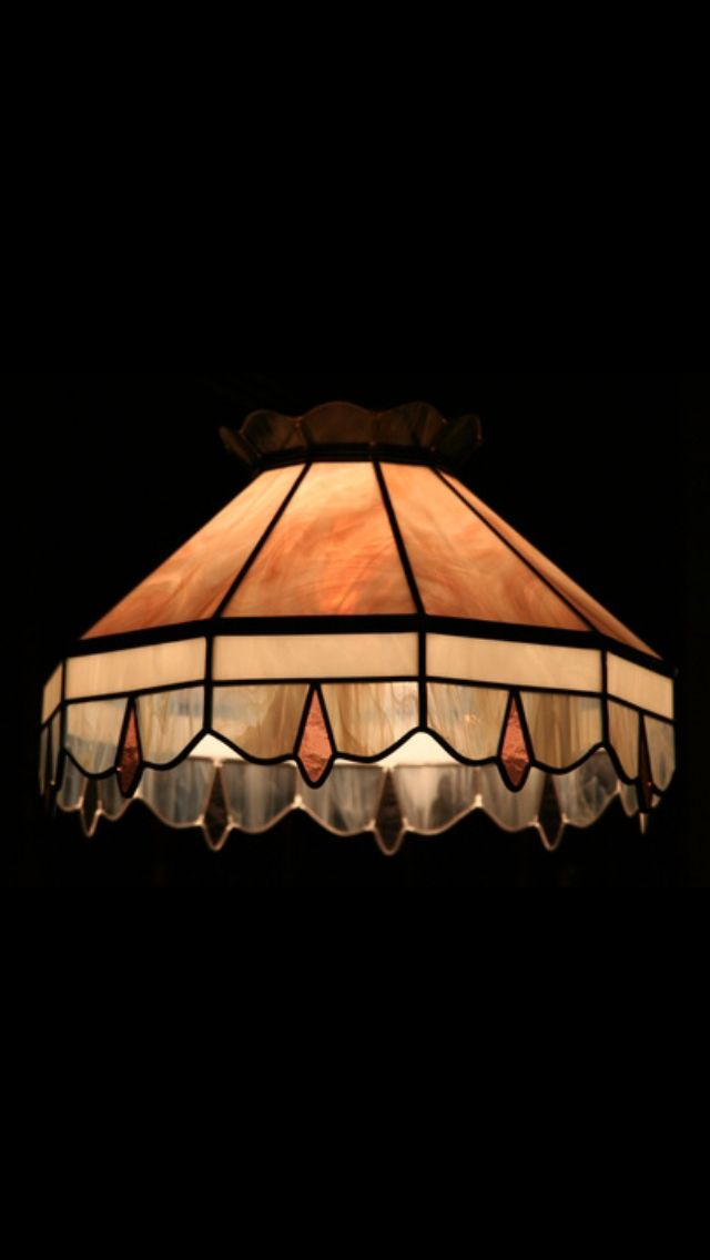 how to make stained glass lamp shades