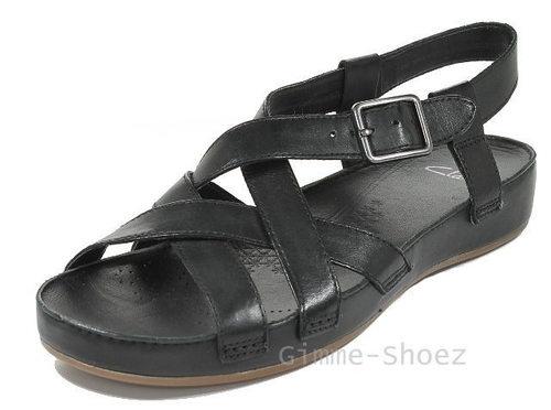 Clarks RASPBERRY TEA Sandaletten schwarz black Leder NEU 2013   eBay