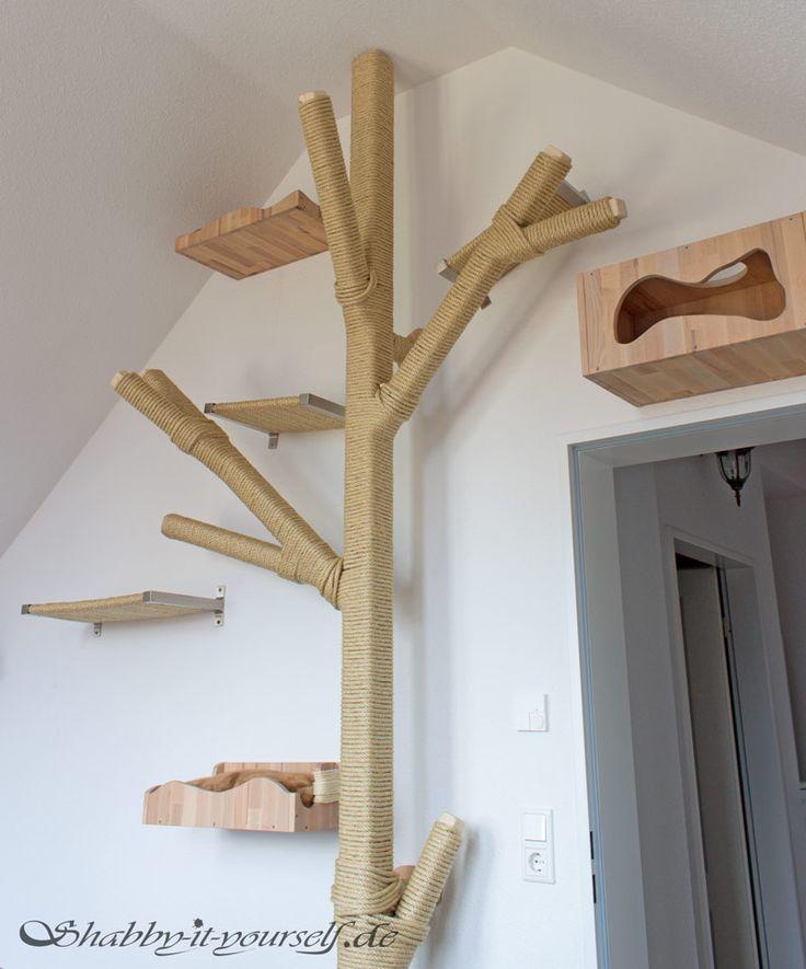 die 25 besten ideen zu katze kletterwand auf pinterest katzen wand katzenm bel und katzenzimmer. Black Bedroom Furniture Sets. Home Design Ideas
