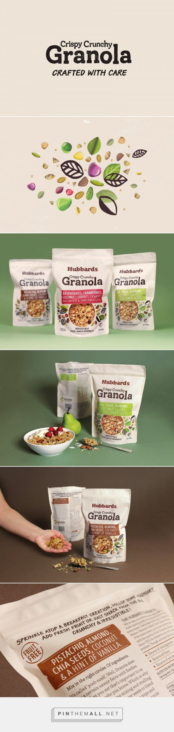 Hubbards Granola - Packaging of the World - Creative Package Design Gallery - http://www.packagingoftheworld.com/2017/02/hubbards-granola.html