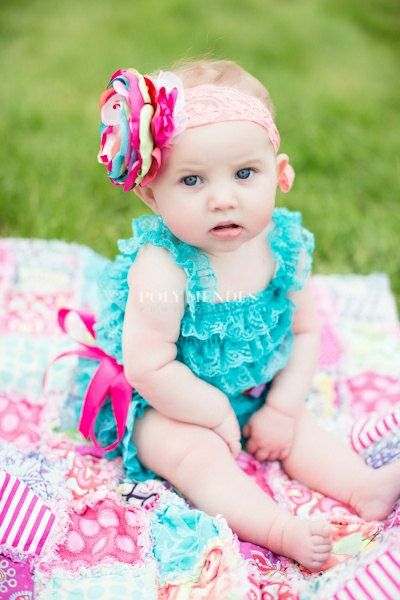 Smash Cake Headband-Baby Headband-Baby Girl by AvryCoutureCreations