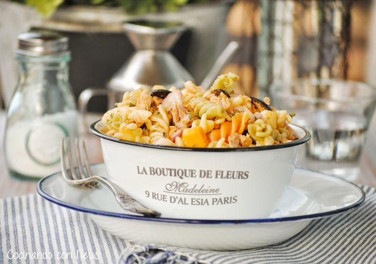 62 best recetas de pasta images on pinterest pasta - Ensalada de arroz con atun ...