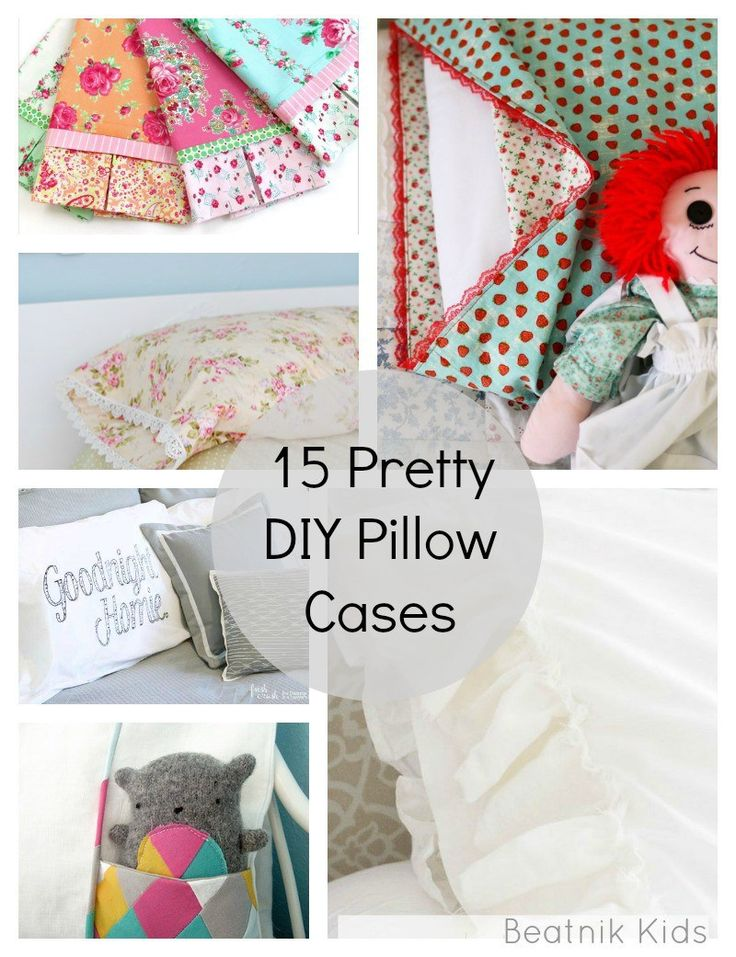 20 Pretty, DIY Pillow Cases Skirting the Issue sewing round up sewing for charity sewing pillow case diy pillow case diy