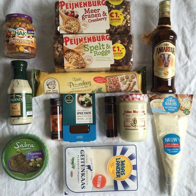 Hmm fijne foodpost weer van #kroonophetwerk. Allerlei producten waar ik wel iets mee kan. #foodybox