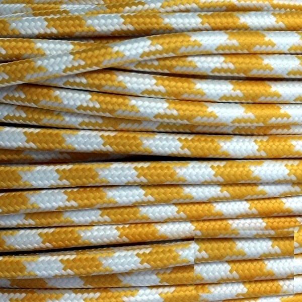 ROUND TEXTILE FABRIC CABLES SOLD BY THE METER!