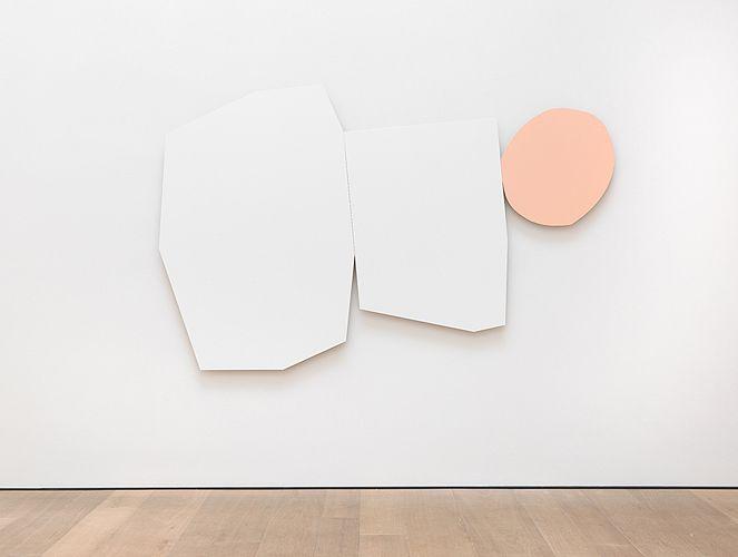 confront:  Imi Knoebel,System 3, 2013 Acryl on Aluminium viauberplasticism