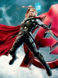 Avengers: Age of Ultron Thor Promo Art