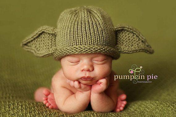 Yoda Hat Pattern Knit by PinkToad on Etsy