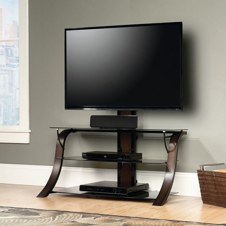 Sauder Select TV Stand with Mount | from hayneedle.com