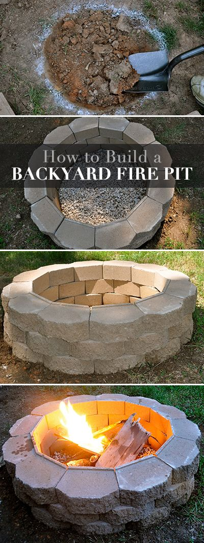 DIY Project • How to Build a Backyard Fire Pit!