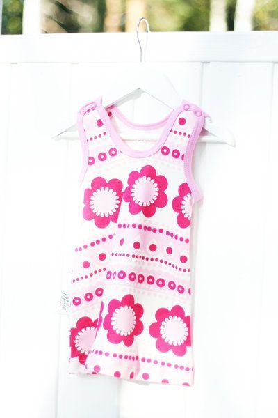 Liivimekko, Pinkki - Melli EcoDesign - kotimaiset lastenvaatteet, ekologiset lastenvaatteet, keskosen vaatteet