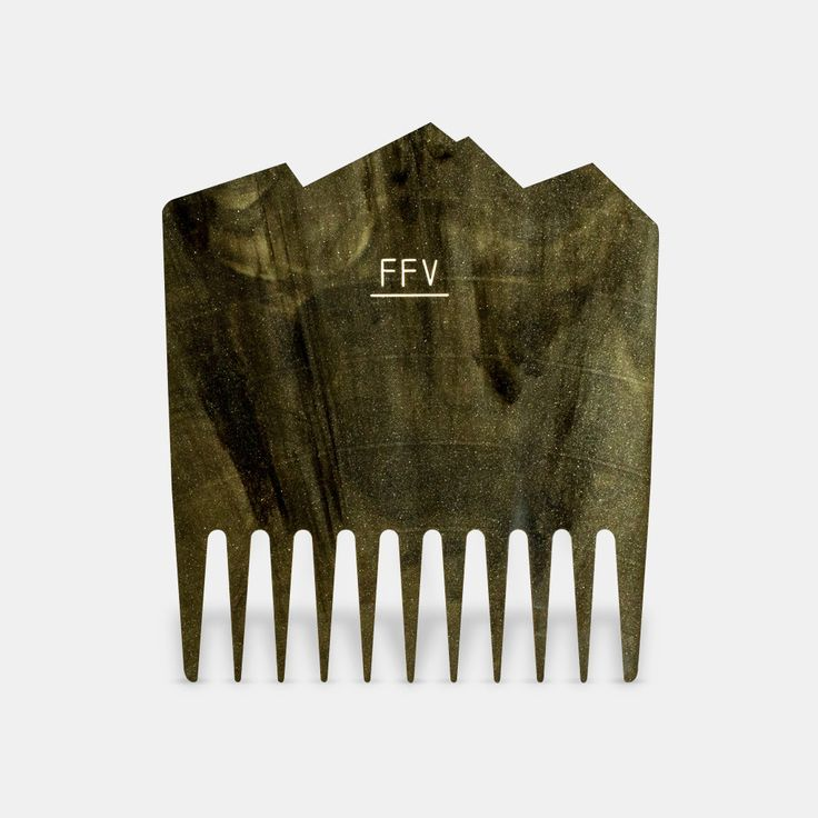 Fit for Vikings Vinyl Beard Comb