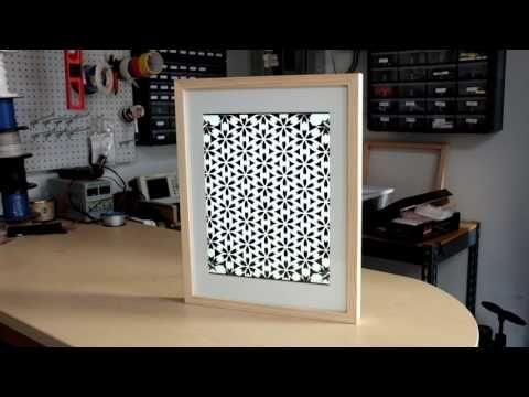 Raspberry Pi Art Frame using OpenFrame
