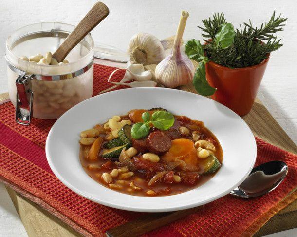 Unser beliebtes Rezept für Italienische Bohnensuppe und mehr als 55.000 weitere kostenlose Rezepte auf LECKER.de.
