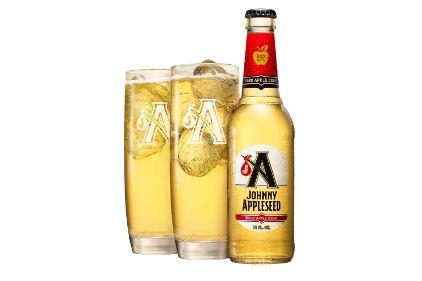 Johnny Appleseed Cider #packaging #bottles