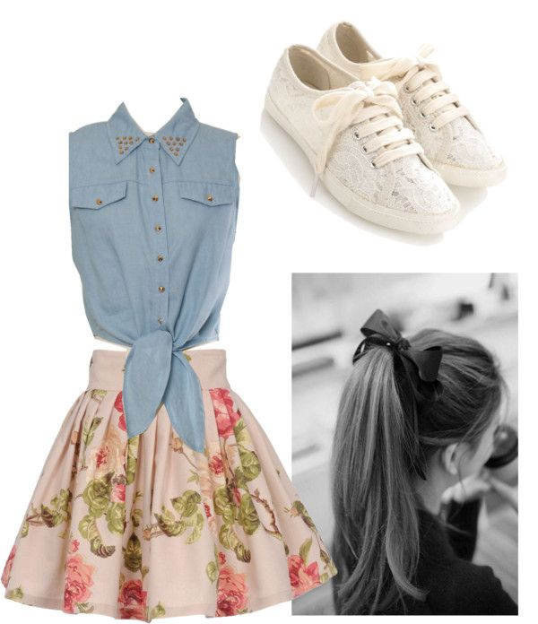 """Teen Days"" by dianalove101 ❤ liked on Polyvore"