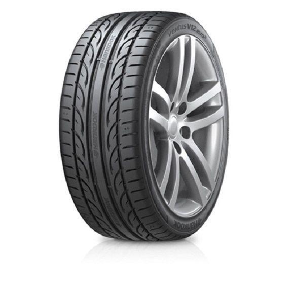 Hankook Ventus V12 Evo2 K120 Summer Performance Tire - 255/45R19 104Y (Black)