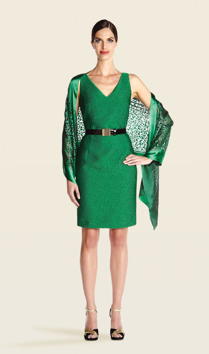 Emerald green dress | Carlisle Collection | Per Se | Collections | Lookbook | Carlisle | Holiday 2013 | 29
