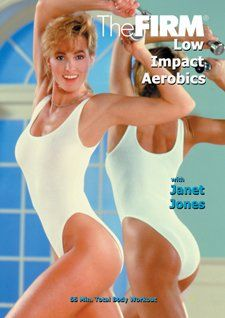 The FIRM DVD Classic 'Vol 2 Low Impact Aerobics' by Anna Benson with Janet Jones  http://www.mysharedpage.com/the-firm-dvd-classic-vol-2-low-impact-aerobics-by-anna-benson-with-janet-jones