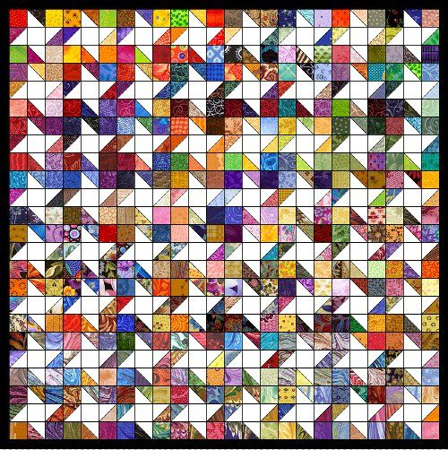 free quilt patterns with 5 inch squares | Hopefully I will get some time soon to create the directions and put ...