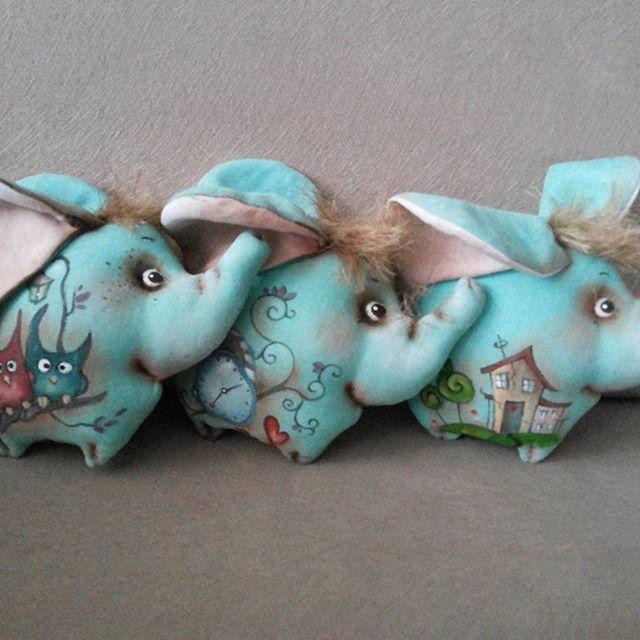 Ще крильця...і слони полетять!!мятний слоник..#слоник #авторскаяработа #оленавербець #люблюсвоюработу