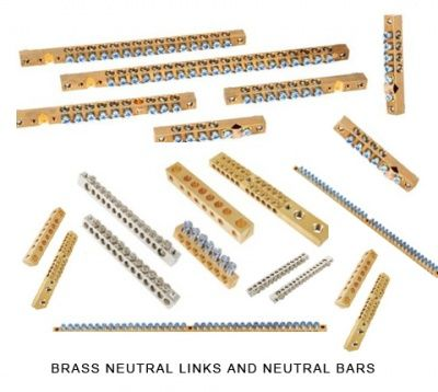 Neutral Links Neutral bars #NeutralLinks  #Neutralbars  We are jamnagar based manufacturers and suppliers of Brass Neutral links and Brass Neutral bars of high quality. Our products are manufactured with high precision and we use top quality fasteners and hardware to churn out perfect assembly of Brass Neutral links. We offer Brass neutral bars and earth bars neutral links to various electrical industries like switchgears control gears telecom distribution panels electrical enclosures etc .